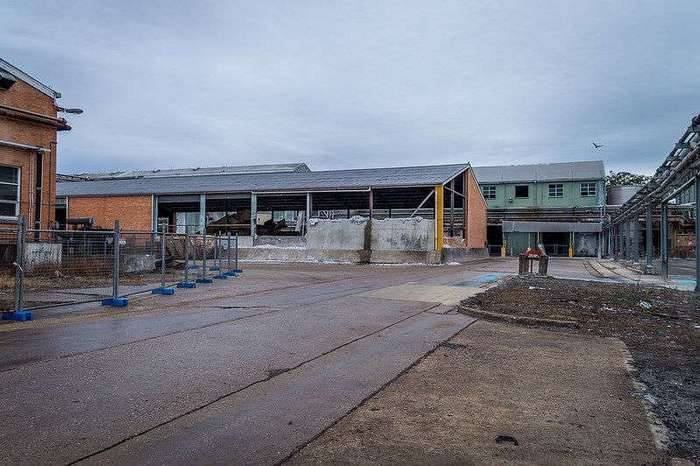 Заброшенная бумажная фабрика в Австралии