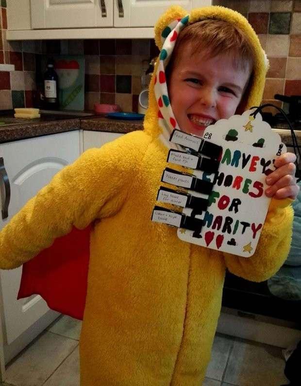7-летний мальчик отказался от подарков на день рождения, чтобы помочь хоспису, где умерла его мама