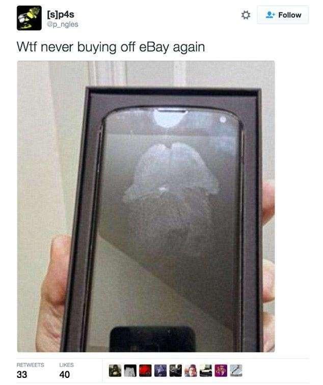Неудачные покупки в интернет-магазинах