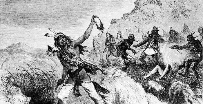 Так кто же научил индейцев снимать скальпы?