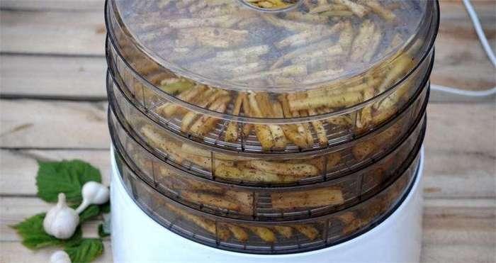 Маринованные сушеные баклажаны на зиму