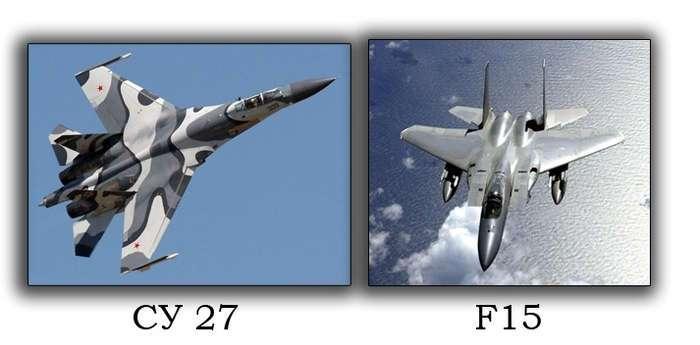 2 показательных воздушных боя РФ VS США