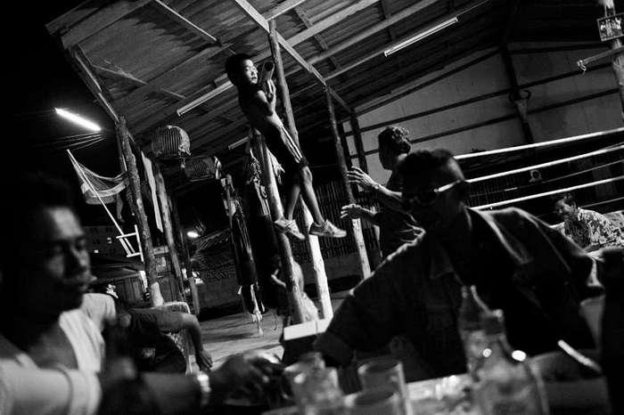 Дети на ринге: развлечение для туристов и источник дохода для многих тайцев