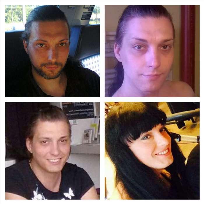До и после: трансгендеры всего мира поделились фото своих трансформаций