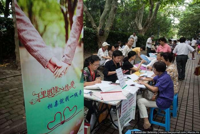 Как знакомятся в Китае