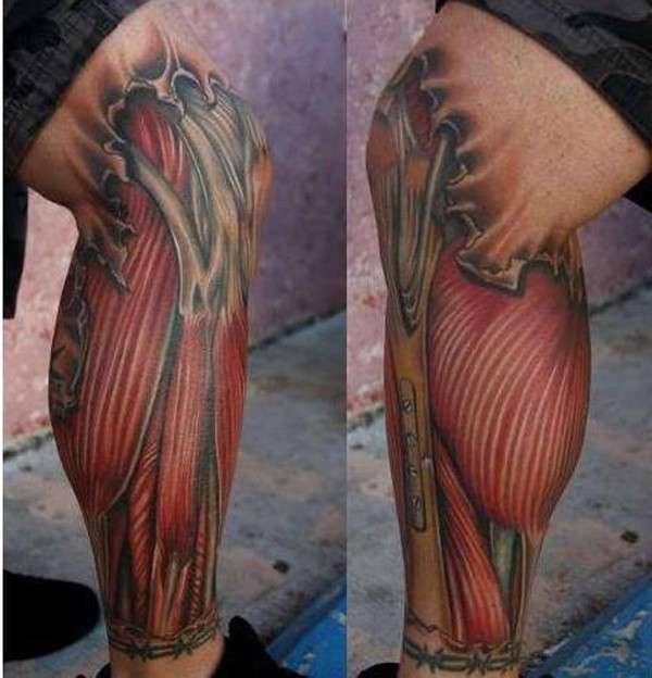 Раскрыть свой внутренний мир: самые крутые анатомические тату