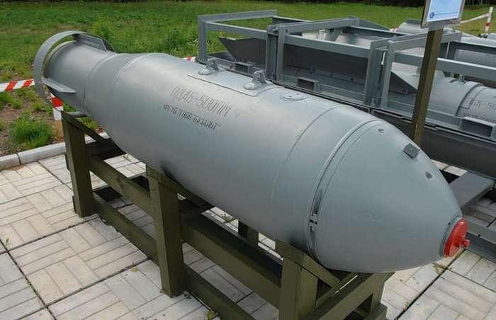 Вакуумная бомба: сильнейшее неядерное оружие