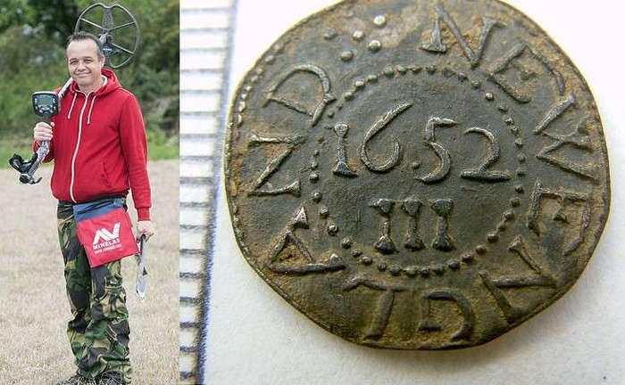 Находка монета цена $1,7 миллиона