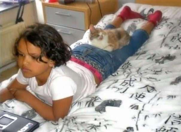 Взрослые боялись даже взглянуть на котенка, которого спасла 7-летняя девочка