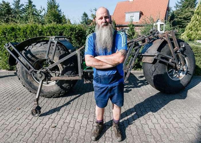 Самый тяжёлый велосипед в мире