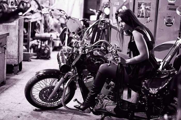 Жены и подруги байкеров - романтика и трудности жизни