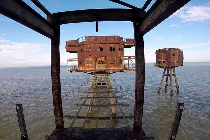 Морские крепости Британии превратились в столицу виртуального государства