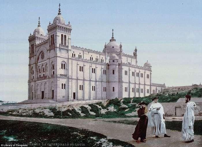 Кропотливая работа превратила черно-белые снимки Северной Африки 1899 года в яркие фотографии