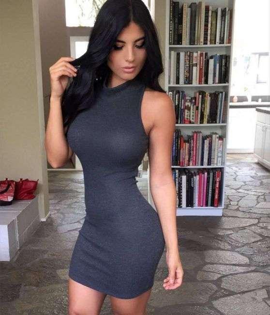 Когда платье хорошо сидит