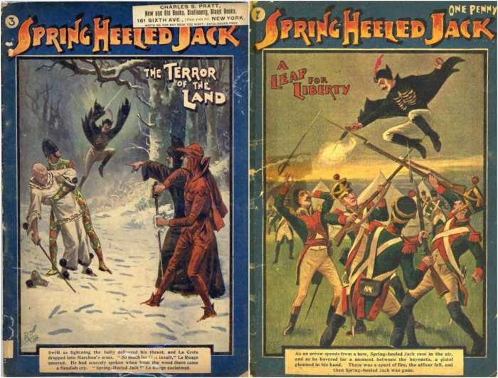 Джек-прыгун : ночной кошмар XIX века, который стал первым супергероем комиксов