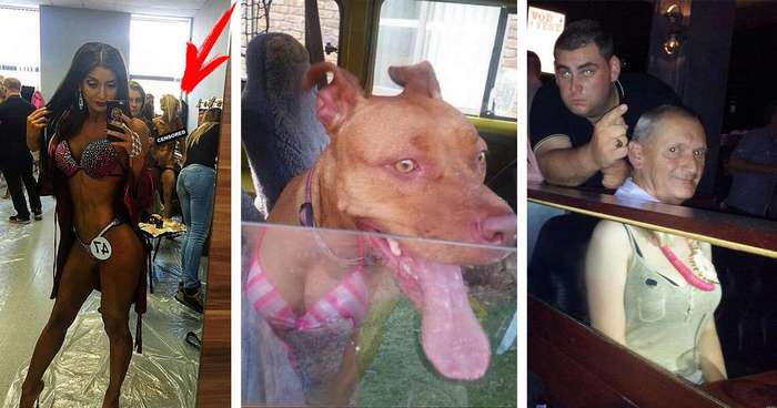 24 сумасшедшие фотографии, на которых люди стали жертвами отражений