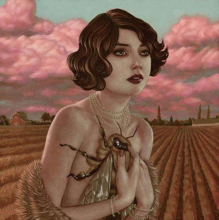 Сюрреальные портреты женщин Casey Weldon