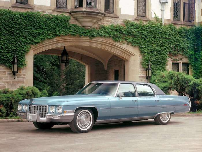 Король дорожных яхт: Cadillac Fleetwood Brougham, d'Elegance и Talisman (1971-76)