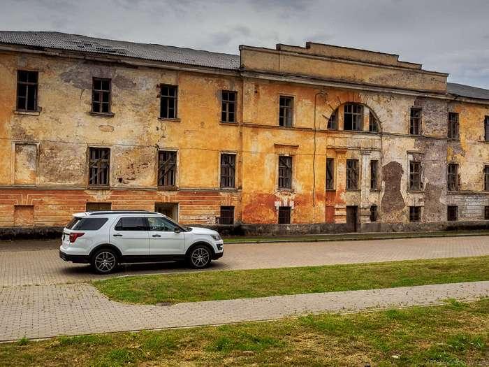 Заброшенный город-крепость в центре Европы