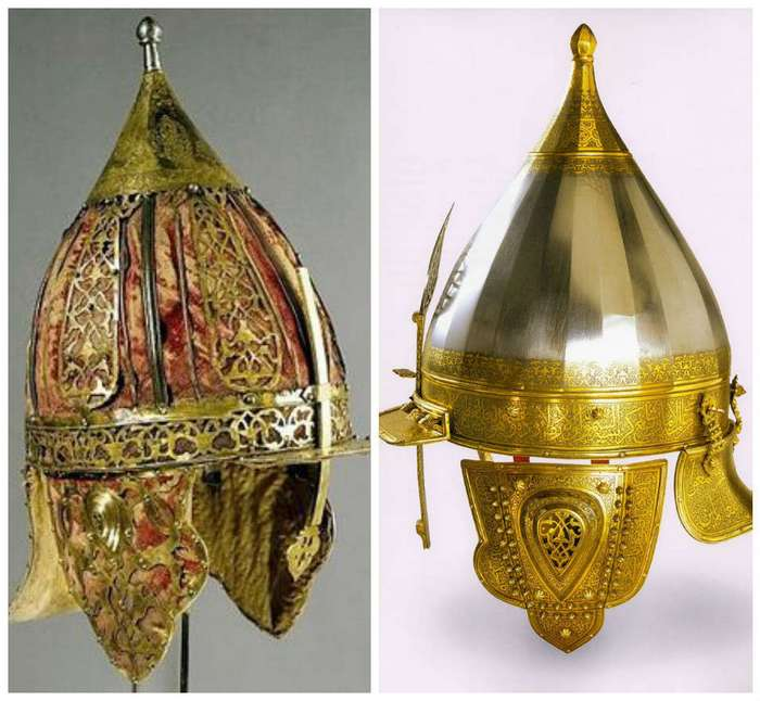 Рыцарское облачение, маски гладиаторов, военные шлемы и тому подобное из всех времен и народов