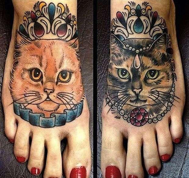 Девушки, парни и их котуировки