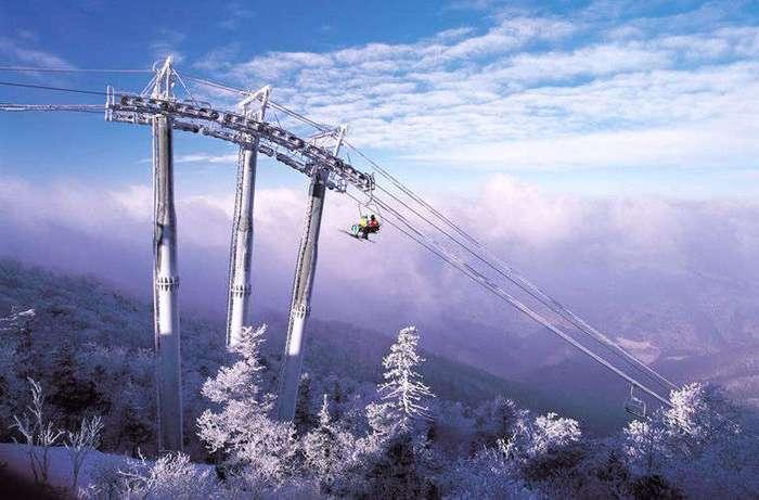 Зима «по-корейски»