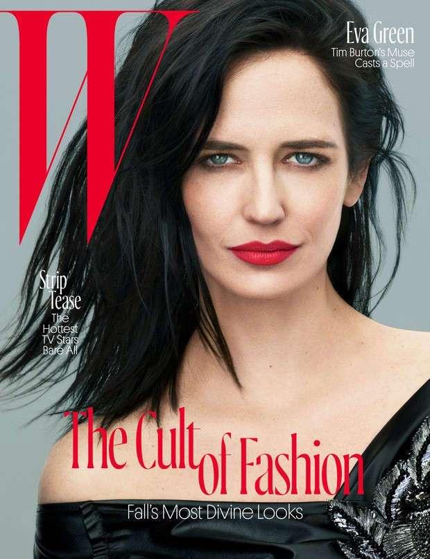 Ева Грин в W Magazine