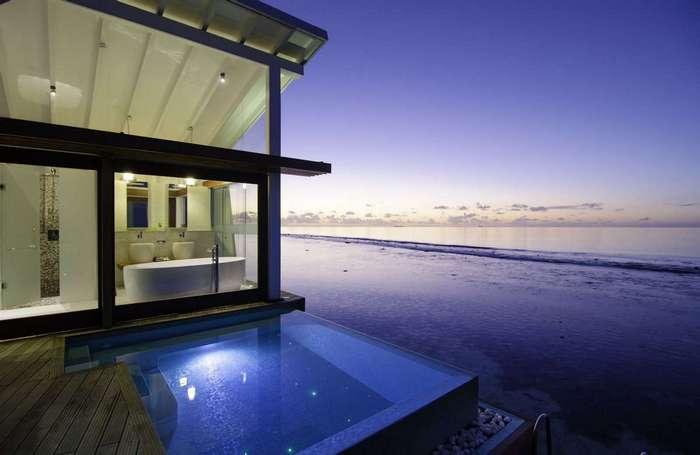 Остров-курорт на Мальдивах
