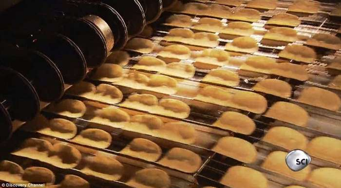 Из чего же сделаны чипсы Pringles