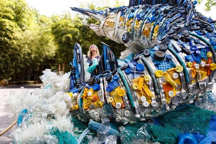 Новая жизнь пластикового мусора из океана