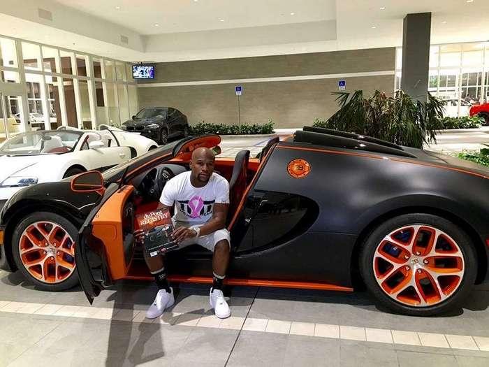 На что тратит деньги самый богатый спортсмен планеты