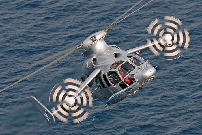 Как выглядит новый самый быстрый вертолет в мире