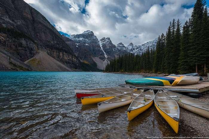 Канада. Скалистые горы