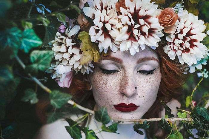 Завораживающая красота веснушчатых людей