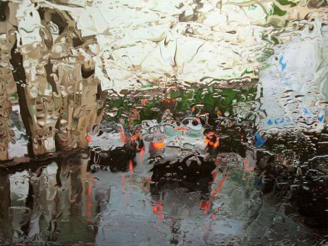 «Дождливый» художник Грегори Тилкер / GREGORY THIELKER