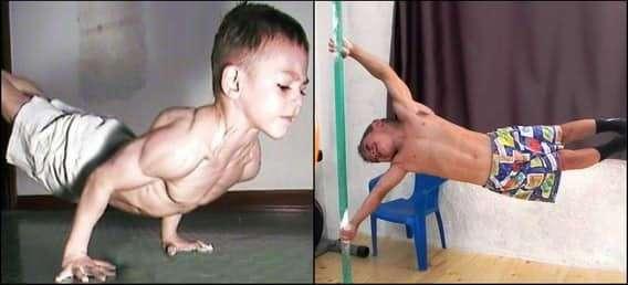 Самые сильные дети в мире