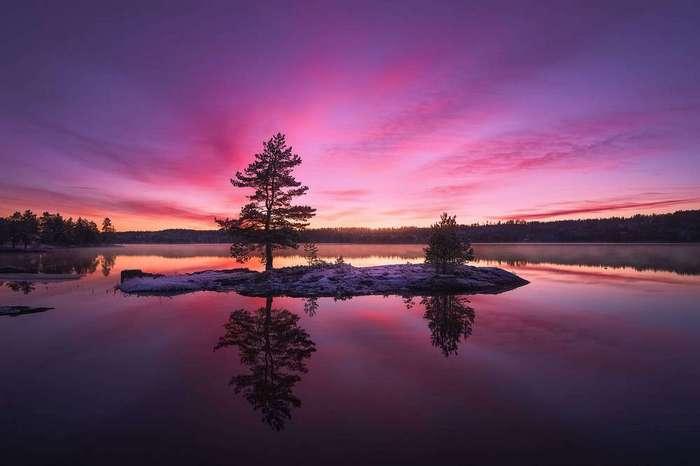 Красивые пейзажи на снимках учителя математики