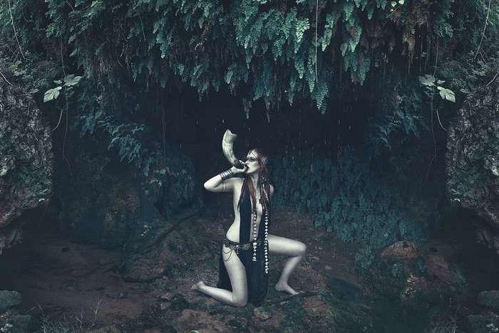 Красивые и пугающие работы Ребеки Сарай