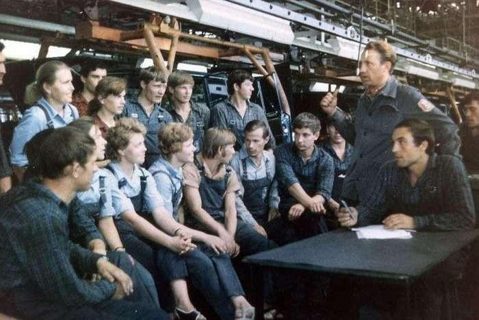 Исторические фото АвтоВАЗа к 50-ти летию начала строительства