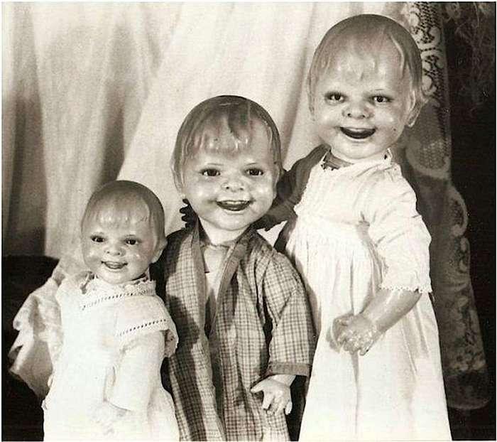 Девочка, не плачь! Это же кукла!