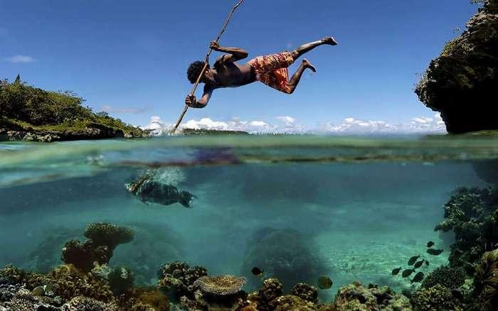 Удивительные снимки между двух миров