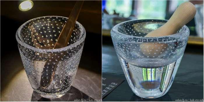 Как делают пузырьки в стекле