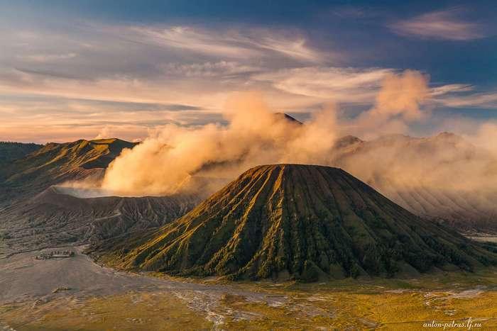 Вулкан Бромо. Остров Ява