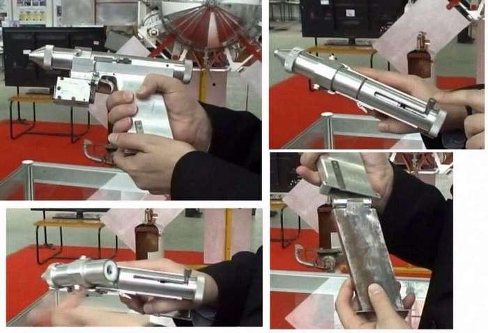 Лазерный пистолет СССР.