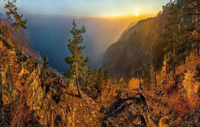 Осень на Байкале