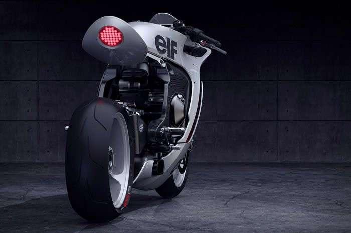 Концепт Huge Moto Mono Racr: ретро-модерн будущего