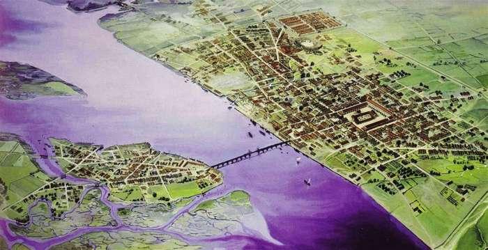 Как выглядели самые крупные города мира до того, как, собственно, стали такими