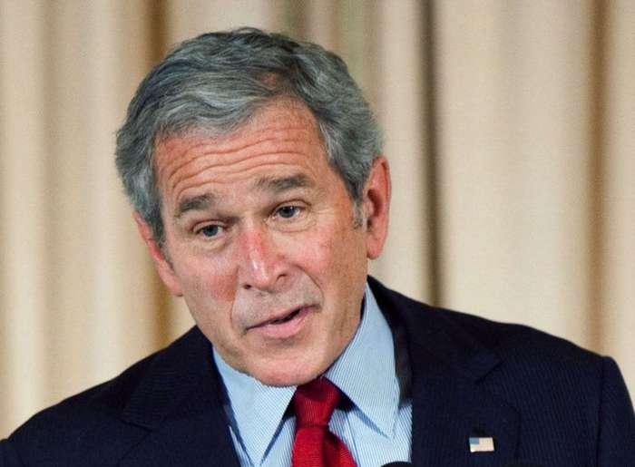 Смешные цитаты Джорджа Буша младшего.