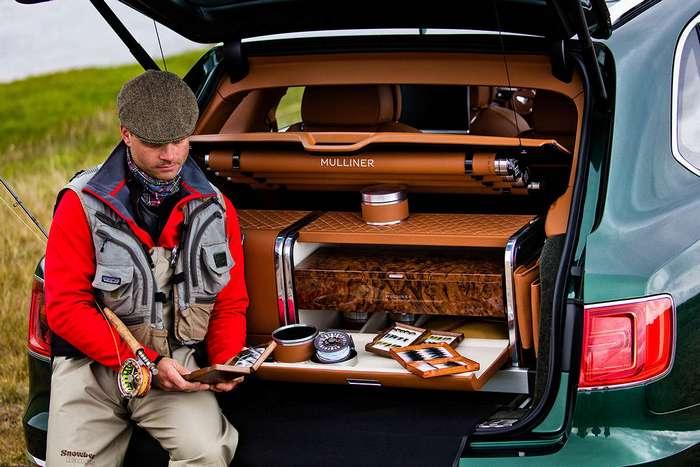 Bentley Bentayga получила специальную версию для рыбаков