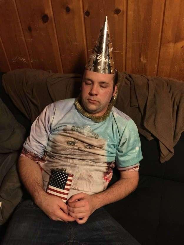 27 фотографий смешных выходок пьяных людей